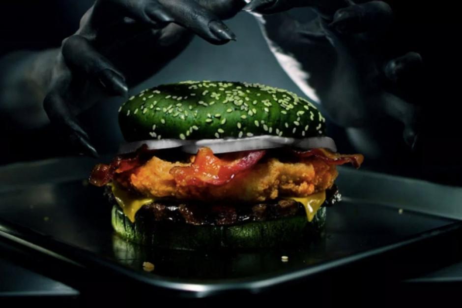 Burger King stworzył upiornego burgera wywołującego koszmary senne