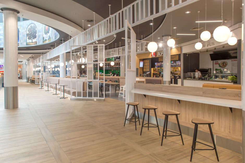 Nowy food court w Focus Mall Piotrków Trybunalski