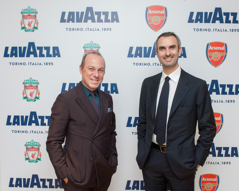 Lavazza będzie serwować kawę dla angielskich piłkarzy i kibiców