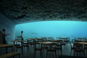 Pierwsza podwodna restauracja w Europie ruszy w kwietniu 2019