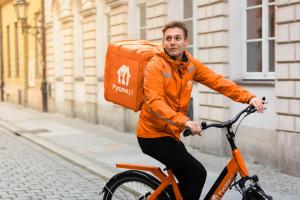 Pyszne.pl: Darmowe dostawy rowerowe także w Krakowie