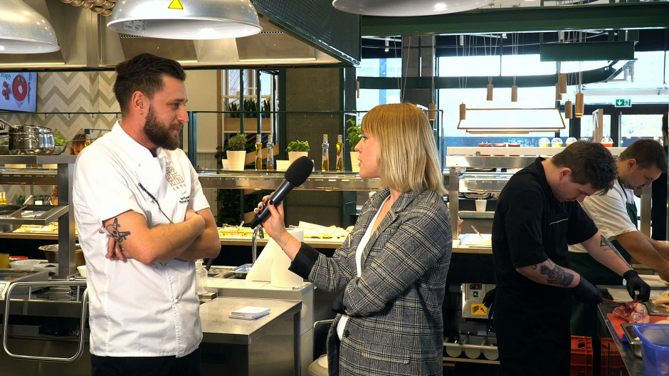 Szef kuchni restauracji Isto: Czerpiemy inspiracje z natury (wideo)