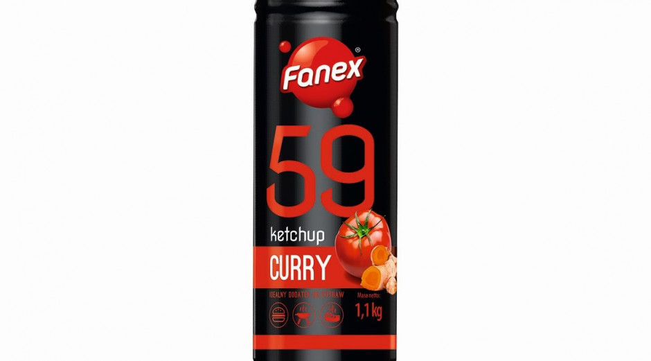 Ketchup Curry – nowy sos marki Fanex
