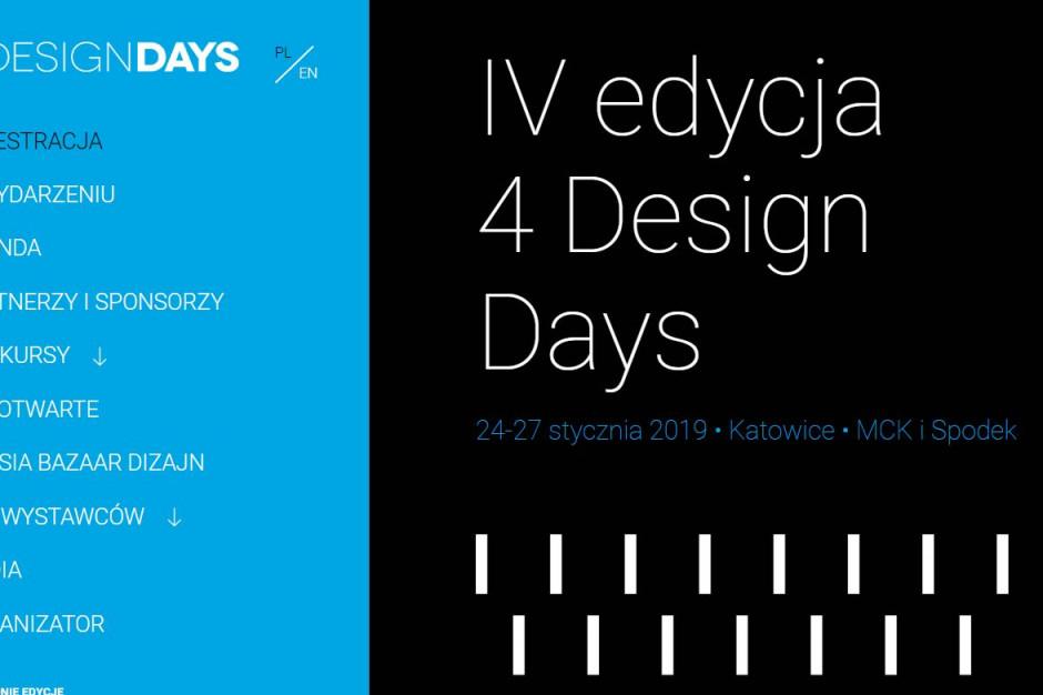 Horecatrends.pl patronem medialnym 4 Design Days