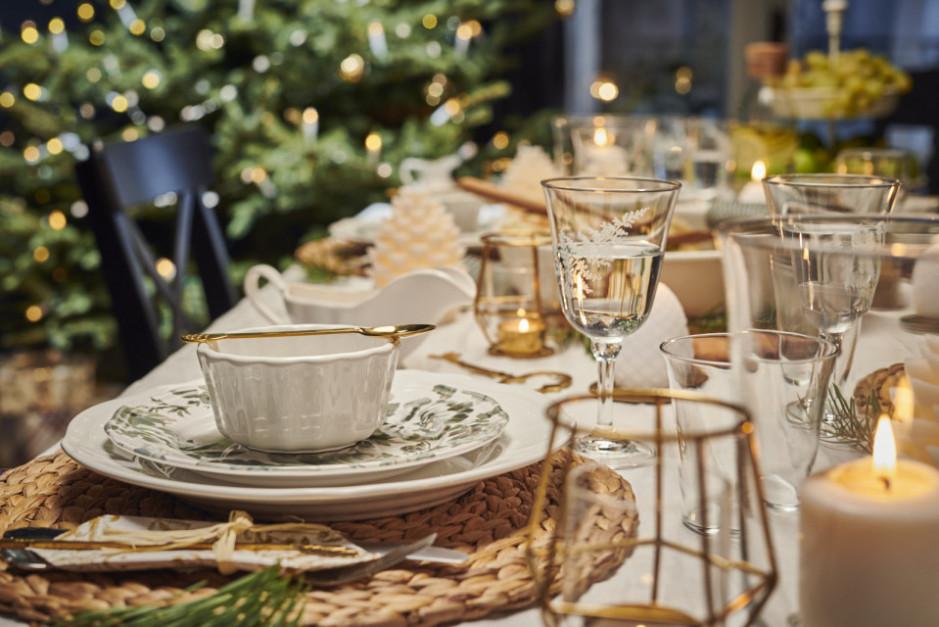 Świąteczny stół - według Ikea