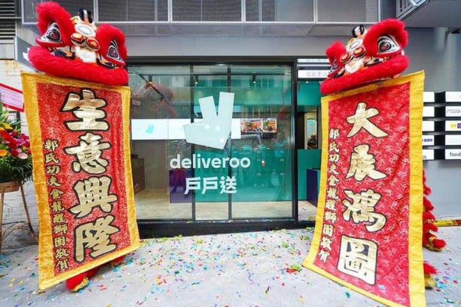 Deliveroo otwiera swoją pierwszą restaurację