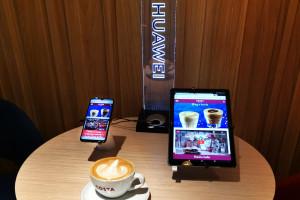 Costa Coffee we wspólnym projekcie z Huawei