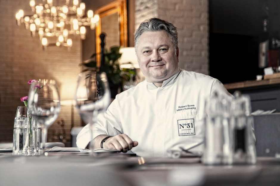 Robert Sowa: Nie można być zbyt modnym pod kątem kulinarnym