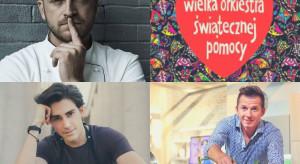 Z kim na kolację? Gessler, Okrasa, Brunetti i blogerzy na WOŚP