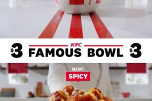 KFC podąża za trendami i proponuje... bowle