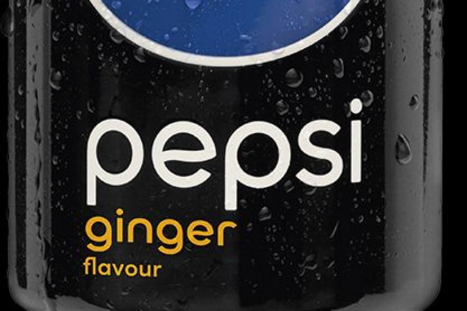 Pepsi poszerza ofertę o smak imbirowy