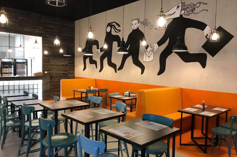 Bobby Burger ma nowy lokal w Poznaniu. Mural ozdobił wnętrze burgerowni