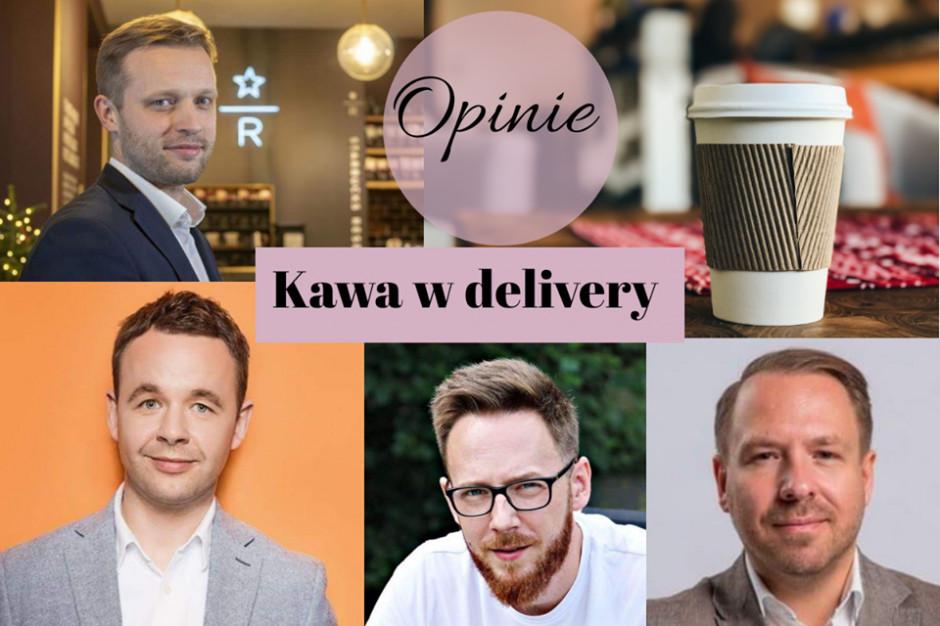 Kawa w delivery. Czy jesteśmy na to gotowi? – opinie