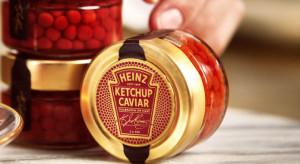 Kawior, który jest ketchupem... Walentynkowa promocja dla foodies od Heinza