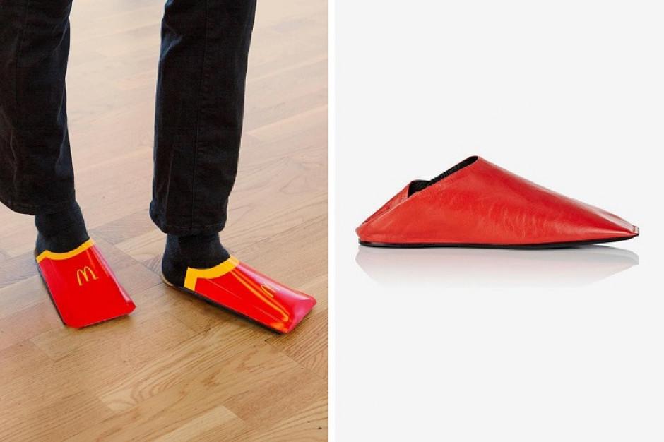 McDonald's naśmiewa się z designerskich butów