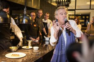 Alain Passard, szef kuchni z trzema gwiazdkami Michelin, na Gali Francusko-Polskiej Izby Gospodarczej