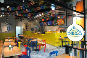 Papa Diego otwiera pierwszy lokal ze stolikami restauracyjnymi