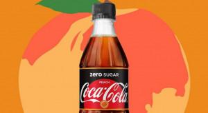 Coca-Cola z nowym smakiem - Peach Zero