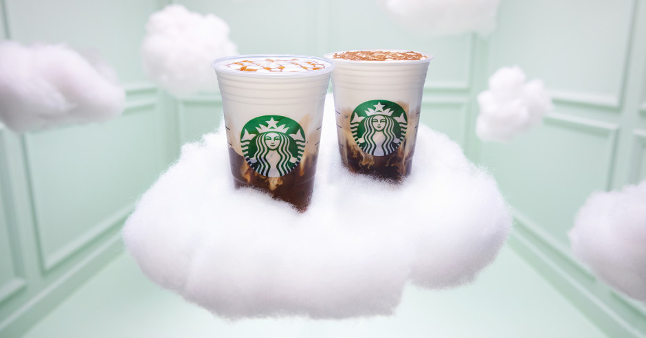 Starbucks stworzył Cloud Macchiato