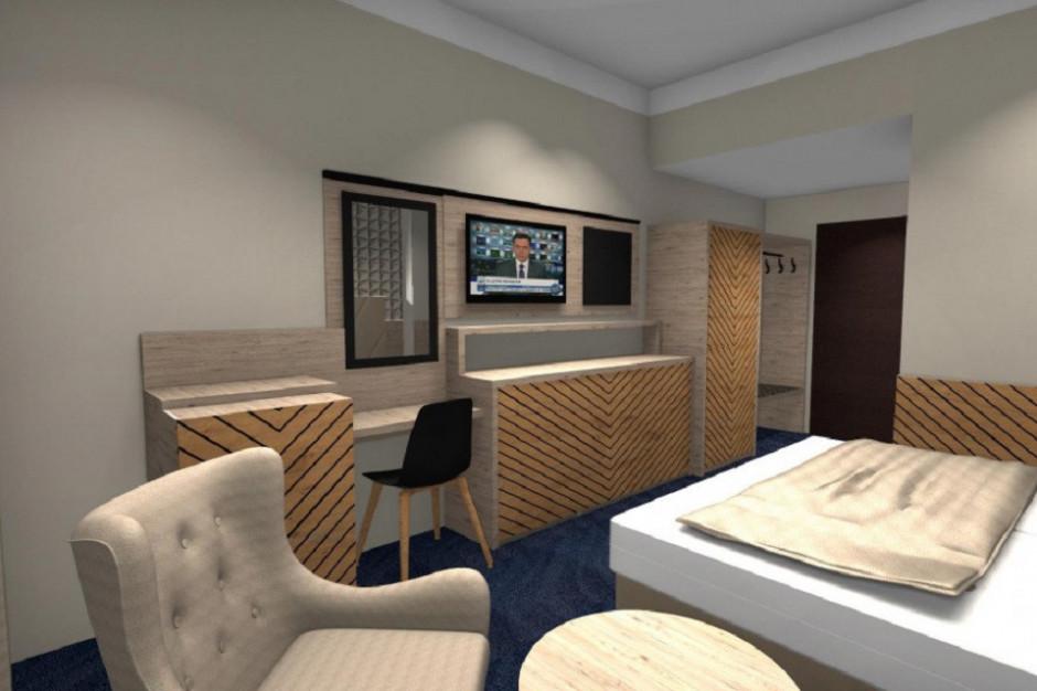 Diament Ustroń - remodeling wnętrz hotelu dobiega końca