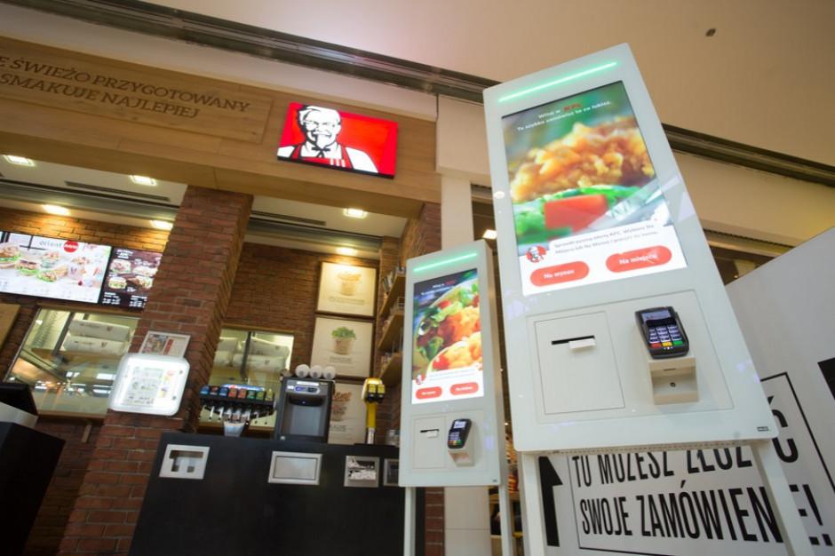 KFC stawia na kioski samoobsługowe