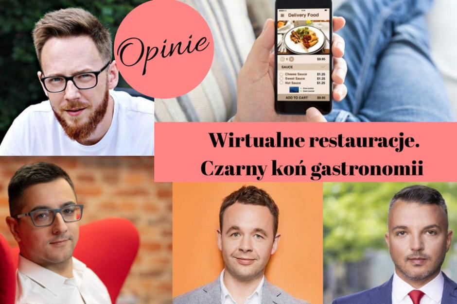 Wirtualne restauracje czarnym koniem gastronomii – opinie