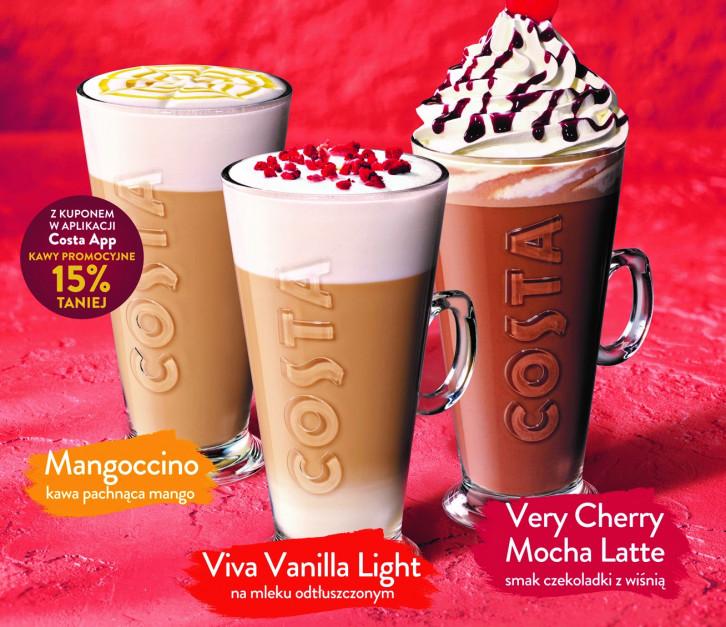 Costa Coffee z nową ofertą na wiosnę