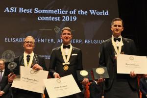 Polak zajął szóste miejsce w ASI Best World Sommelier