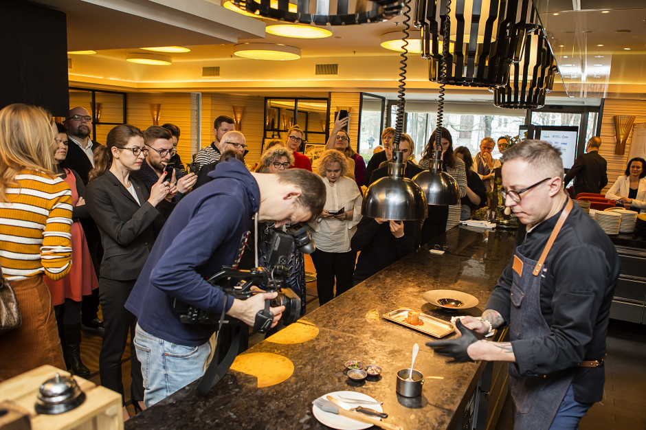 Maciej Majewski, szef kuchni La Brasserie Moderne, fot. mat. prasowe