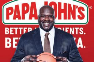 Shaquille O'Neal inwestuje w pizzerie Papa John's
