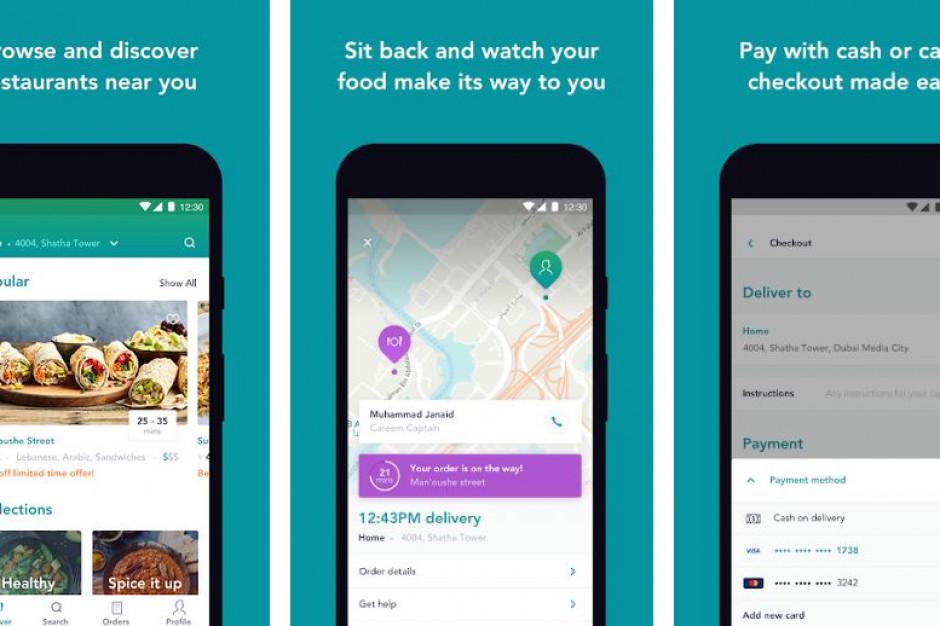 Uber przejmie Careem NOW Food Delivery
