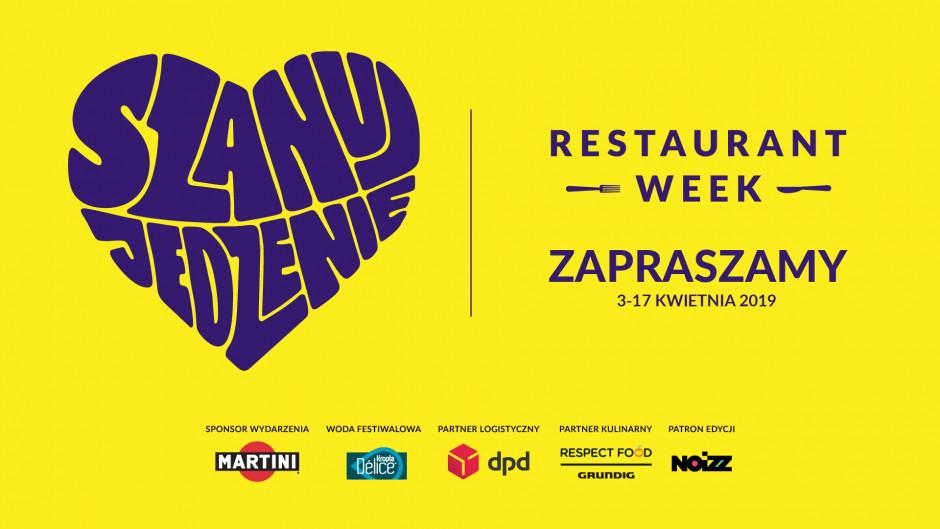 Wiosenna edycja Restaurant Week pod hasłem #SzanujJedzenie!