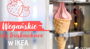 IKEA wprowadza wegańskie lody truskawkowe