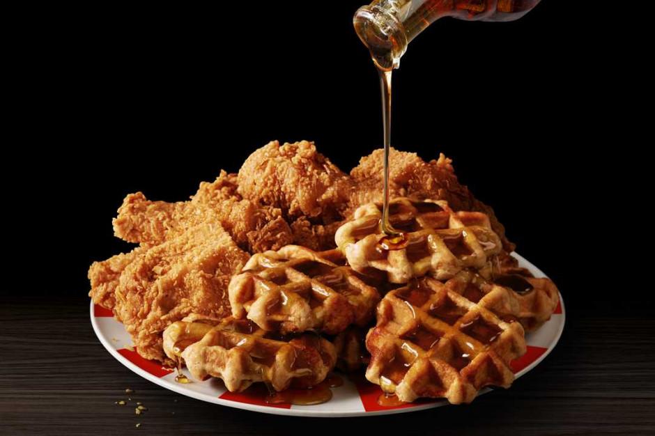 KFC proponuje kurczaka z... gofrem