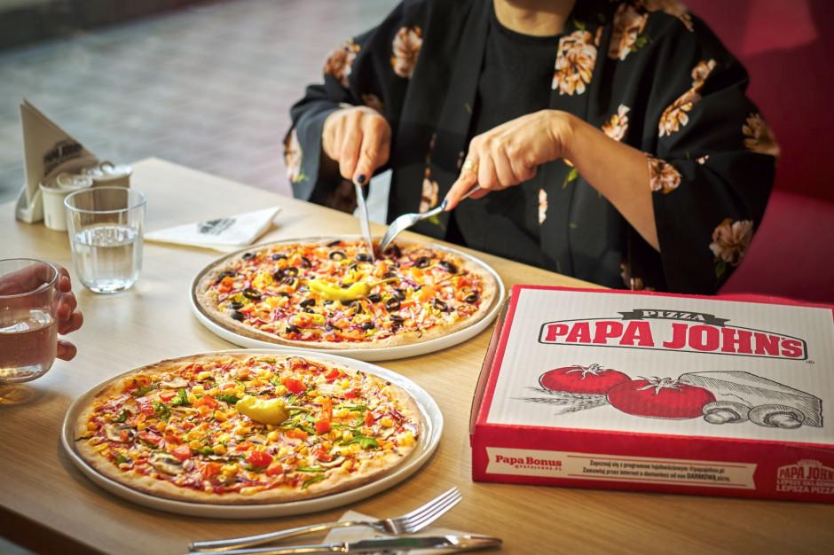 Papa John's wprowadza pizzę z wegańskim serem