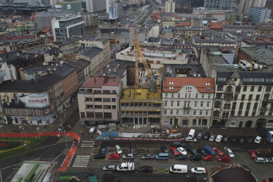 Trwa rewitalizacja hotelu Diament Plaza Katowice