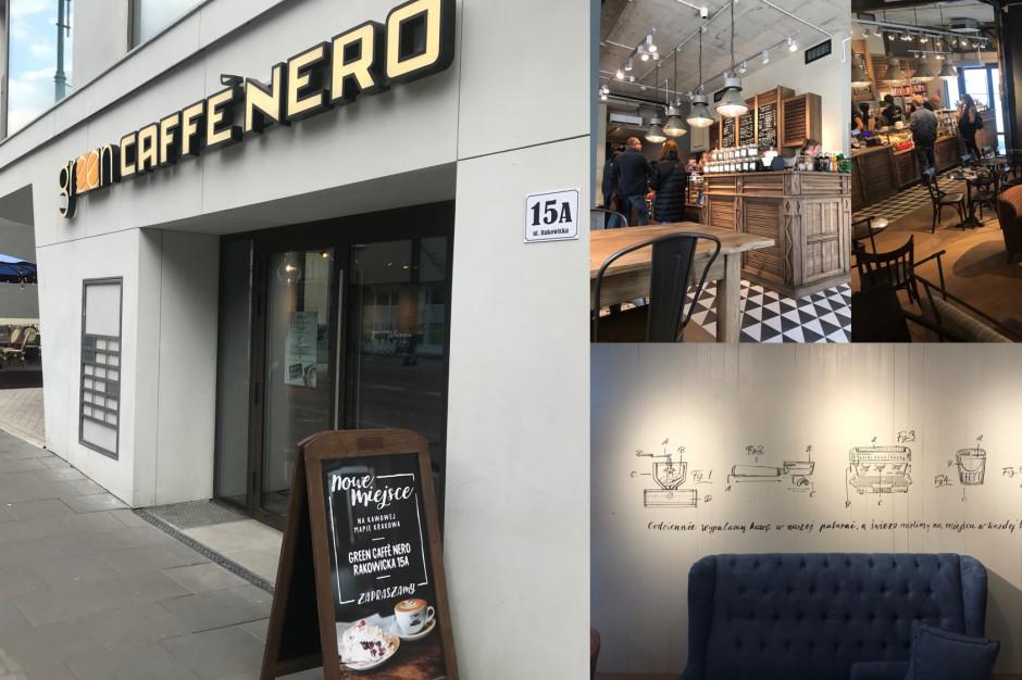 Green Caffè Nero startuje z czwartą kawiarnią w Krakowie