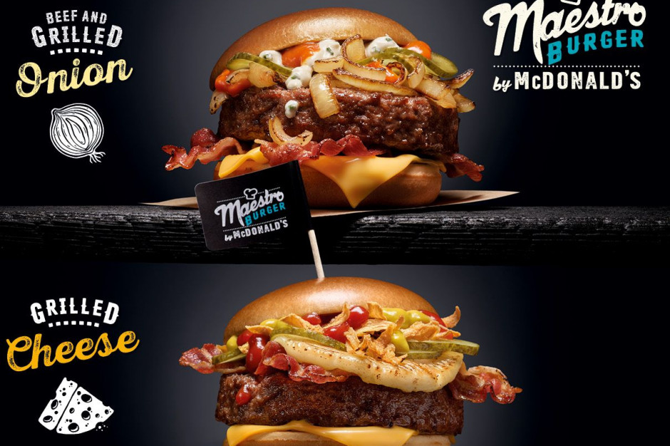 Burgery Maestro znów dostępne w McDonald's