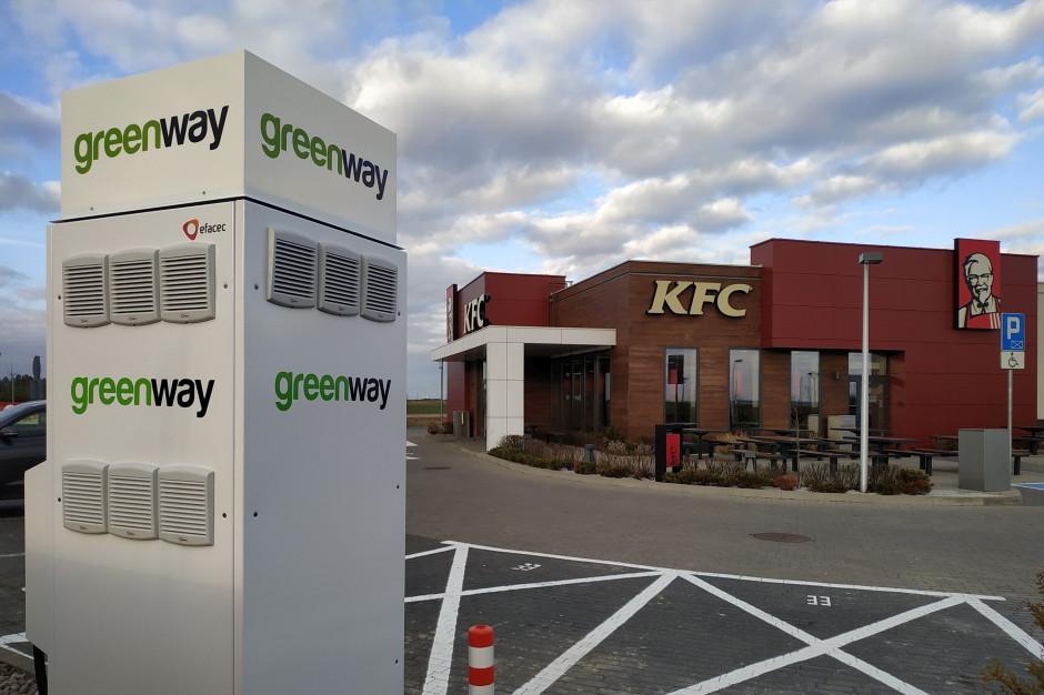 Przy restauracjach KFC powstają stacje ładowania samochodów elektrycznych
