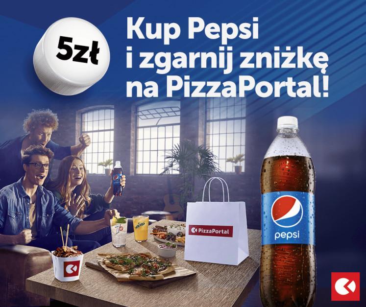 PizzaPortal.pl i Pepsi ruszają ze wspólną akcją rabatową