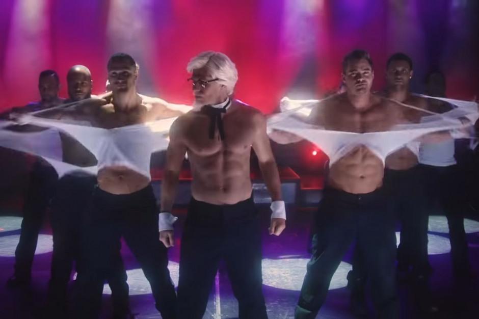 KFC: Pułkownik Sanders jako seksowny Chippendales na Dzień Matki (wideo)