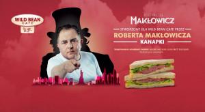 Robert Makłowicz stworzył nową ofertę kanapek dla Wild Bean Cafe