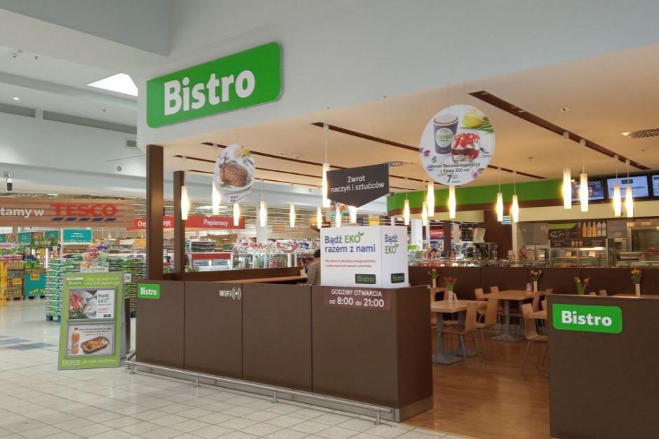 Tesco Bistro też rezygnuje z jednorazowych sztućców i talerzy