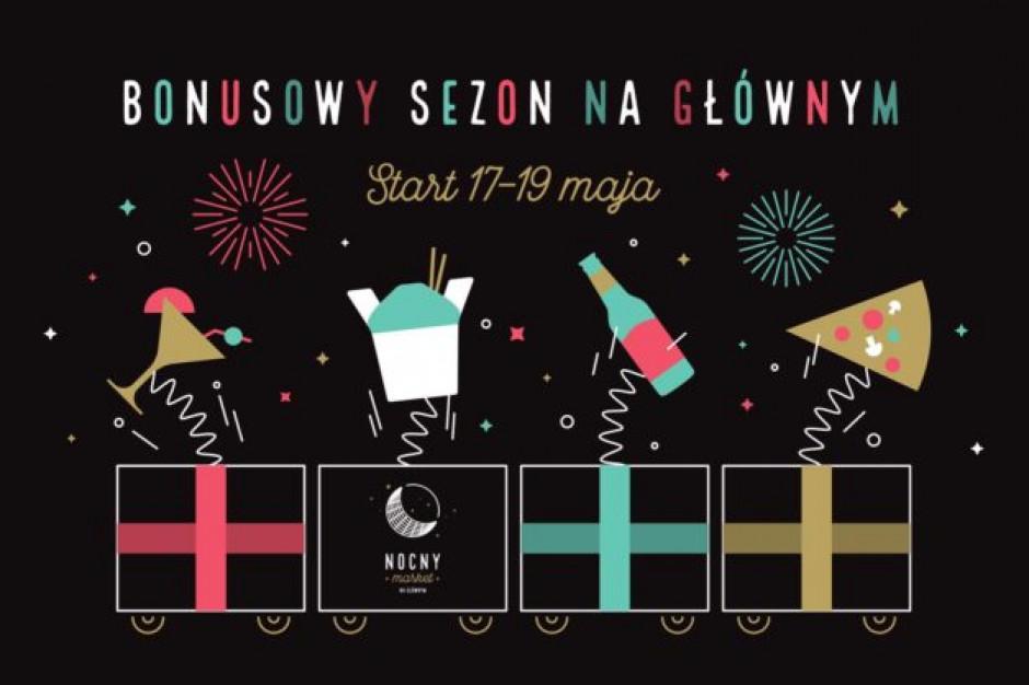 Nocny Market powraca na Dworzec Główny w Warszawie