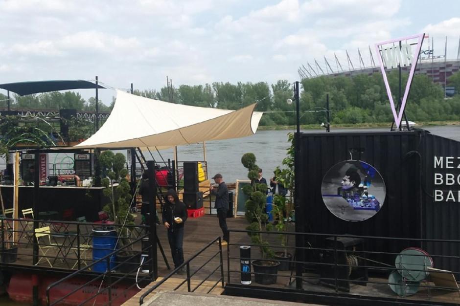 WIR - nowa pływająca platforma nad Wisłą