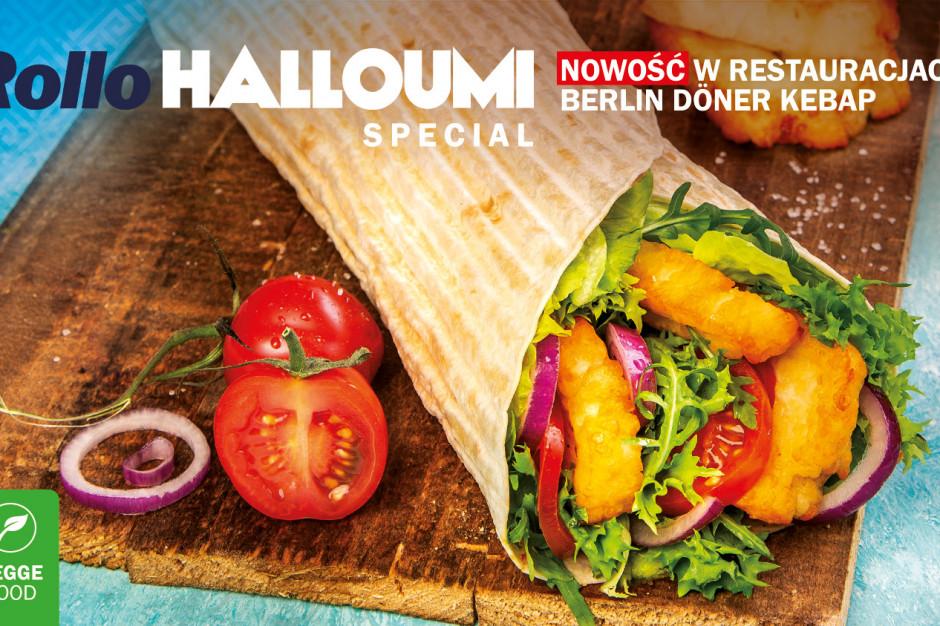 Berlin Döner Kebap wprowadza wegetariańskie kebaby