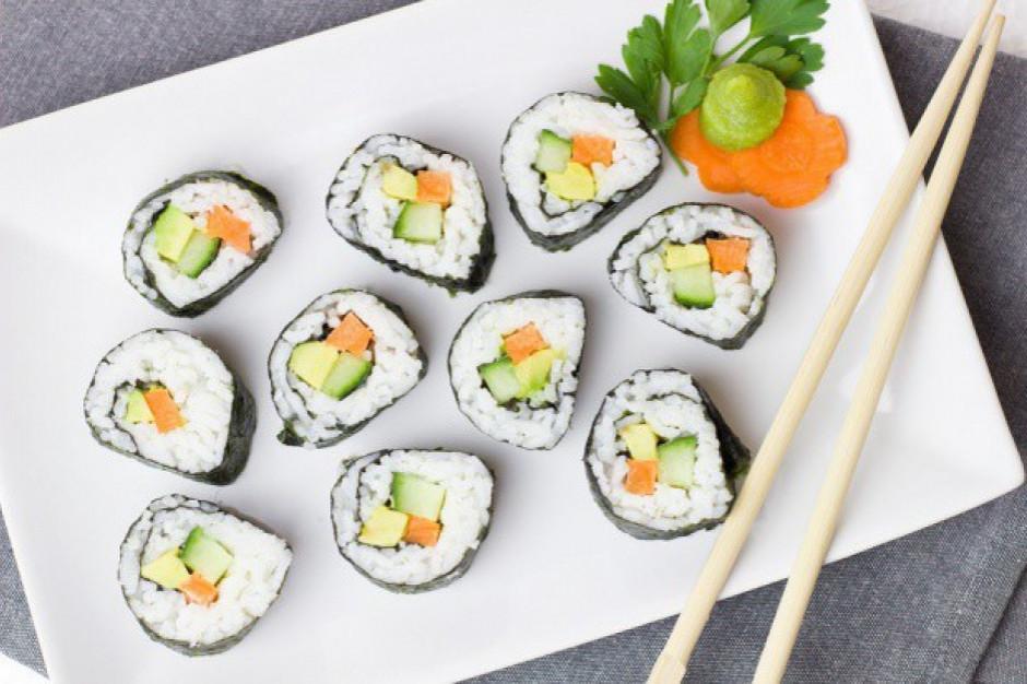 Sushi korzysta na trendzie spożywania gotowych dań