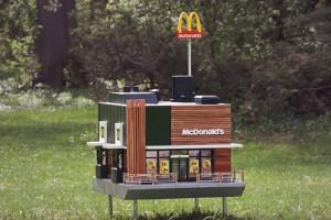 McHive: Powstał ul, który jest miniaturą restauracji McDonald's
