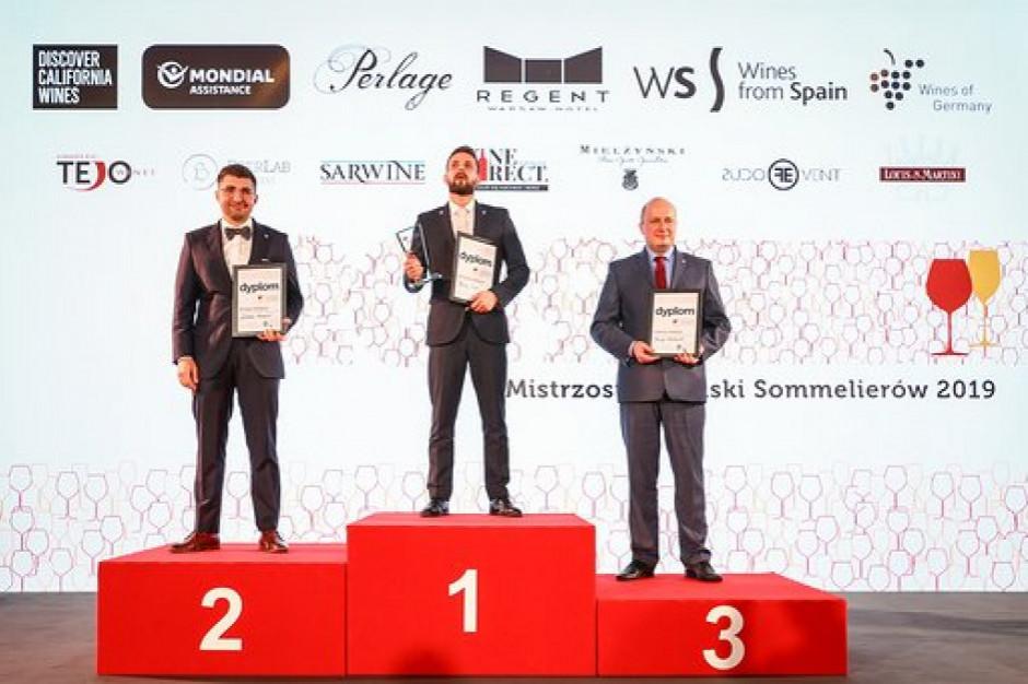 Maciej Łyko laureatem Mistrzostw Polski Sommelierów