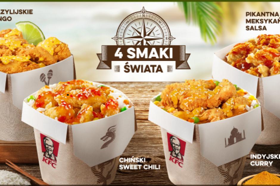 4 Smaki Świata znów w KFC